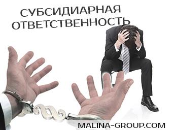 Субсидиарная ответственность в деле о банкротстве: некоторые особенности, установленные законодателем.