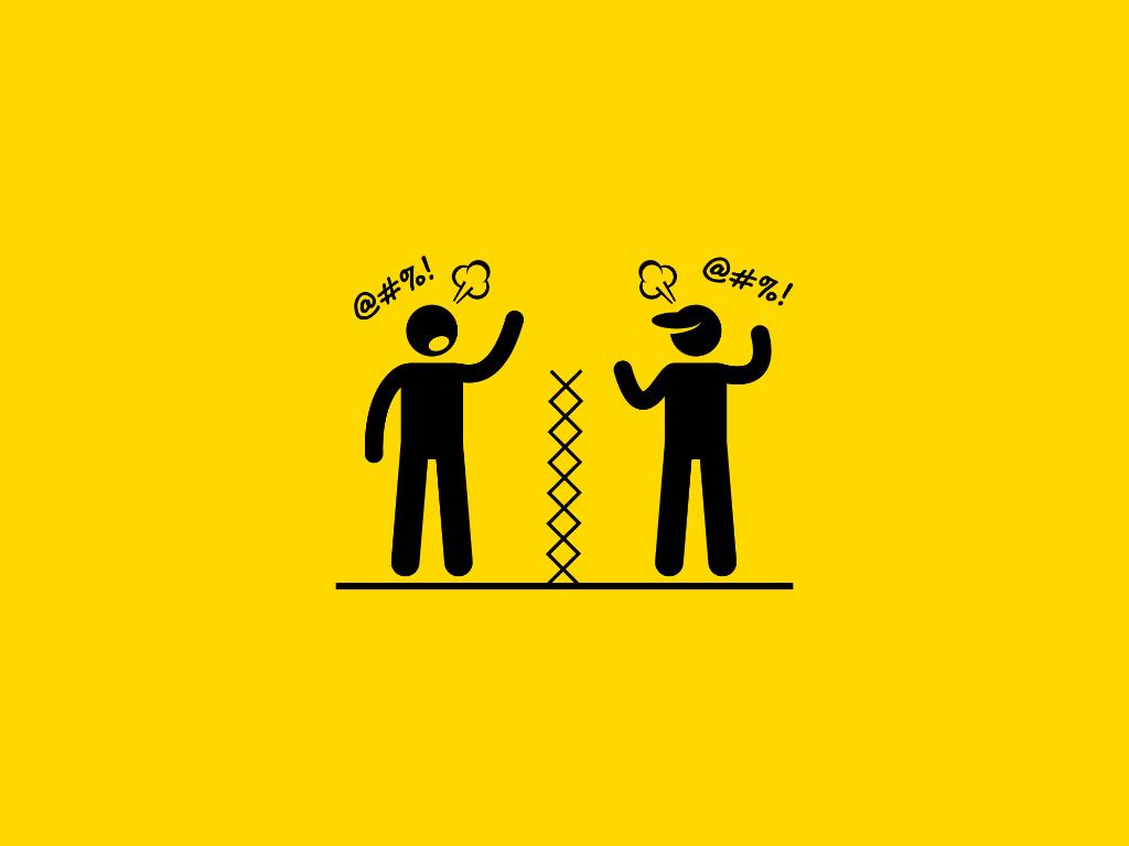 Что делать, если сосед не идет на диалог, но его действия мешают вашему комфорту?